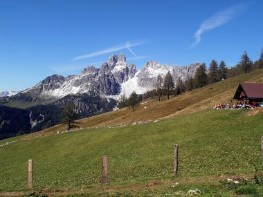Rakouský vrchol Bischofsmütze