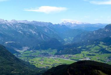 Rakouské městečko Golling an der Salzach