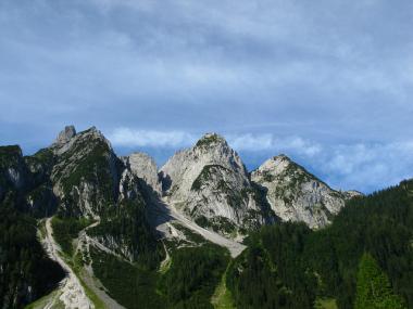 Hory kolem městečka Gosau, Dachstein-West