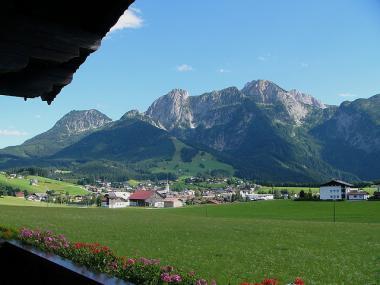 Rakousko, region Dachstein West s obcí Abtenau